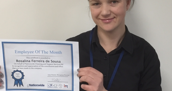 """December 16 """"Cleaner of the Month"""" Award"""