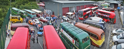 Nationwide support Epsom Buses on their important 95th anniversary event